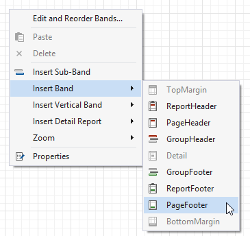 Add Page Numbers | DevExpress End-User Documentation