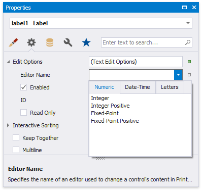 Edit Content in Print Preview | DevExpress End-User Documentation