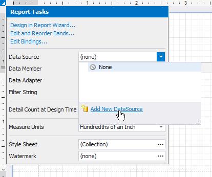 Bind a Report to an Object Data Source | DevExpress End-User