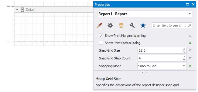Arrange Report Controls   DevExpress End-User Documentation