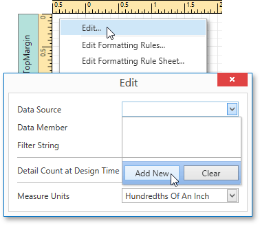 Bind a Report to an Excel Data Source | DevExpress End-User