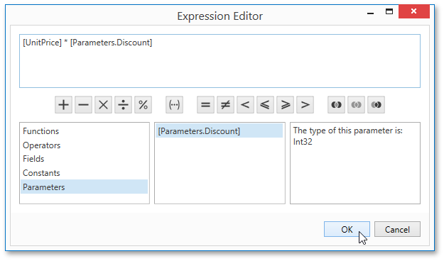 Report Parameters | DevExpress End-User Documentation