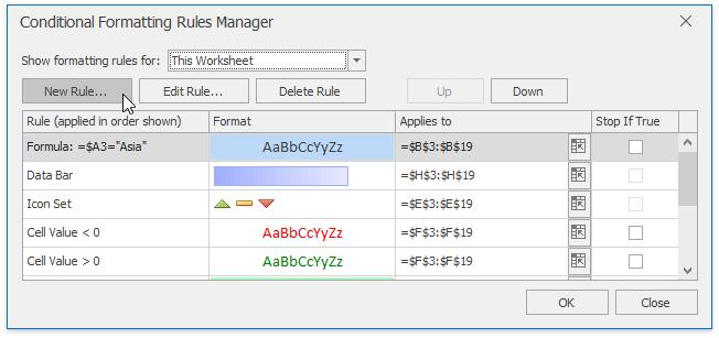 Conditional Formatting | DevExpress End-User Documentation